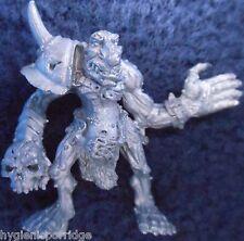 1991 Troll bloodbowl 2ª Edición Star Player grogat crunchskull Ciudadela Goblin
