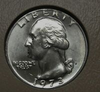 1973-D Washington Clad Quarter Grading Choice Uncirculated Priced Right FREE S&H