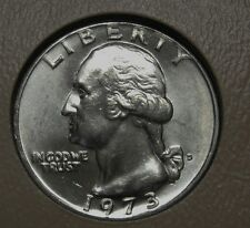 1973-D Washington Clad Quarter Grading Choice Uncirculated     DUTCH AUCTION