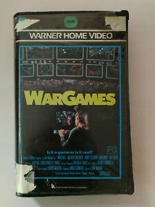 War Games VHS Matthew Broderick Classic Cult Movie Free Postage