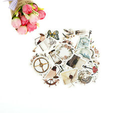 46pcs chapter of narrative paper decor diy diary scrapbooking label sticker FB