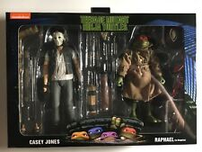 NECA Casey Jones And Raphael TMNT 2 Pack New IN HAND