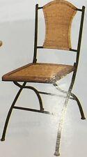 Sedia pighevole legno ferro battuto mod. ho2443