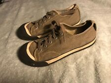 KEEN Womens Tennis Shoe 5 Brown/Tan Corduroy Casual Sz 5 SC8