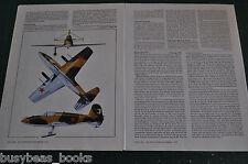 1973 magazine article, Bereznyak-Isaev B1 WWII Russian rocket planes info photos