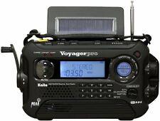 Newest Black Ka600L Voyager Solar Weather Alert Multiband Radio w/Rds! Free Ship