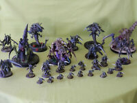 WARHAMMER 40K PAINTED TYRANIDS ARMY - MANY UNITS TO CHOOSE FROM