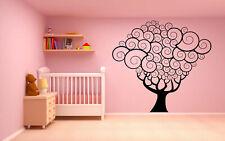 Wall Vinyl Sticker Decal Mural Design Tree Forest Branch Wood Nursery  bo2187