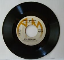 RITA COOLIDGE SWEET EMOTION/I'D RATHER LEAVE WHILE I'M IN LOVE (NM) 45 RECORD