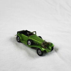 1928 Mercedes-benz Ss Grün Green Von Matchbox Models Of Yesteryear Y-18 Von 1972