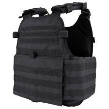Condor MOPC Black MOLLE Operator ESAPI Tactical Plate Carrier Assault Rig Vest