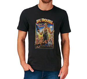BIG TROUBLE IN LITTLE CHINA T SHIRT TOP KURT RUSSELL FILM MOVIE RETRO VINTAGE