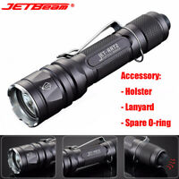 Jetbeam High Bright 950 Lumens LED Tactical Flashlight 18650 /CR123A Torch Lamp