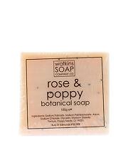 Rose & Poppy Seed Natural Soap - SLS Free 100g Bar