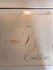 1956 Cadillac Original Pre-Owned Brochure, 60, 62, 75, Coupe De Ville, Eldorado