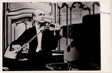 JOSEPH SZIGETI. Violinist autographed photo performing for the BBC