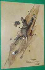 PLANCHE OSCAR LIEDEL 17.5 X 25.5 WEHRMACHT DECROCHAGE CARICATURE 1944