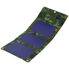 Panneau solaire flexible 5W Voyage chargeur portable USB 1.1A Étanche PowerNeed