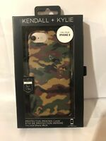 Kendall + Kylie Protective Print Phone Case For Apple iPhone 8 7 6s - Camouflage