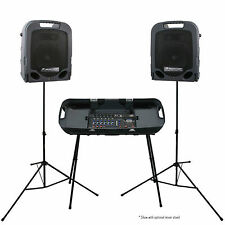 PEAVEY ESCORT 3000 MKII Complete USB Media FX Portable PA System