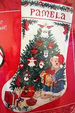 Needle Treasures 02980 BEARING GIFTS Cross Stitch Christmas Stocking Kit ~Sealed