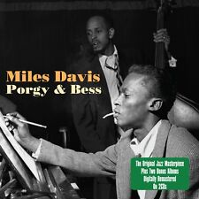 2 CD MILES DAVIS PORGY & BESS plus MILES NEW MILES DAVIS QUINTET BLUE HAZE