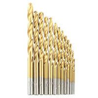HSS Cobalt Spiralbohrer Set 1.5-6.5mm 13X Bohrer Metallbohrer Satz Stahlbohrer^