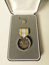 U.S. Joint Civilian Service Achievement Award Medal, Lapel Pin, Presentation Kit