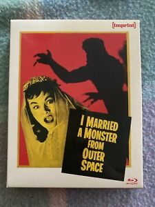 I Married A Monster From Outer Space Blu-Ray Imprint #3 OOP With Slipcase