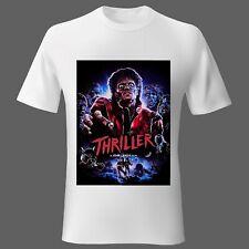 Mens t-shirt Movie Music Michael Jackson Thriller UK Unisex Ladies S M L XL 2XL