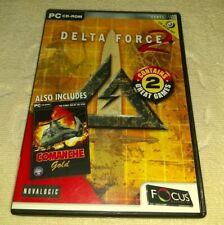 Delta Force 2 & Comanche Gold.