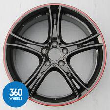 """1 x 3 NUOVO ORIGINALE BMW SERIE 4 20"""" M Sport 361 nero rosso cerchi in lega 36116854611"""