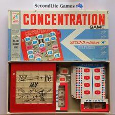 (Vintage) CONCENTRATION: Second Edition ~ Milton Bradley / John Sands (1962).