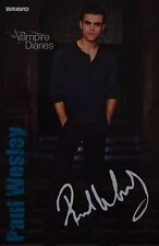 PAUL WESLEY - Autogrammkarte - Autograph Autogramm Clippings The Vampire Diaries