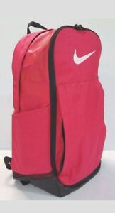 Nike Brasilia 8 XL Rush Pink / Black / White Unisex Backpack - BA5331-699
