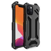 Mechanisches Design Leicht Aluminium Bumper Metall Case für iPhone 12 11 Pro Max