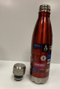 BROADWAY CARES COLLECTION Multi-Musical Logo WATER BOTTLE! Mean Girls, PROM +!