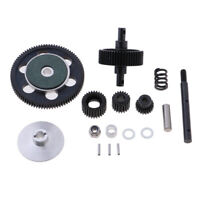 Full Set Gearbox Gears Metal Pinions Bundle for Axial SCX10 1:10 RC Crawler
