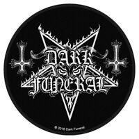 Dark Funeral Circular Logo Patch Official Black Metal Band Merch New