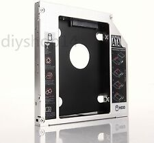 2nd SATA HDD SSD Hard Drive Caddy Adapter for Lenovo IdeaPad G570 G580 G585 G770