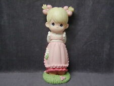 """Rare Precious Moments 16"""" Tall Lighted Girl Statue"""