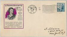 52534 -  UNITED  STATES - CACHET  FDC COVER - Scott # 734 T KOSCIUSKO Military