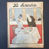 Le Sourire N° 6 du 2 Décembre 1899