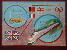 POSTCARD ROCKET 1829 - HSPT 1993 EURO TUNNEL