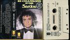 MICHEL SARDOU K7 AUDIO FRANCE 20 CHANSONS D'OR