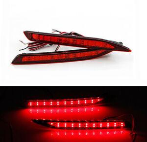 L&R LED Rear Bumper Lights Assembly For Honda Accord Nine Generation 2014-2015