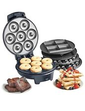 Vonshef 3 in 1 Waffle Brownie and Mini Doughnut maker
