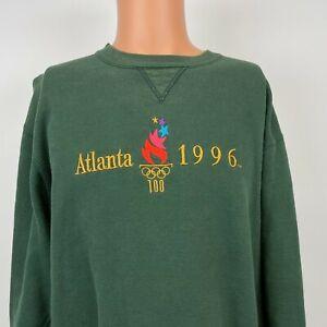 Champion 1996 Atlanta Summer Olympics Crewneck Sweatshirt Vtg 90s Sewn USA 2XL