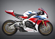Honda Cbr1000rr Yoshimura Gara R-77 Sistema di Scarico Completo 1220100220 CBR