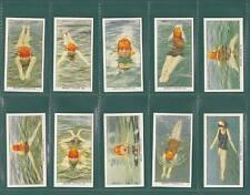 SWIMMING,  DIVING  &  LIFE - SAVING  -  SET  OF  50  CARDS